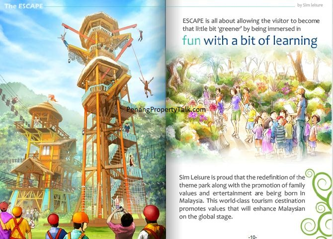 Sim theme park quotes
