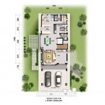 BUNGALOW FLOOR PLAN - GROUND FLOOR