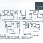 Floor Plan (Level 9 to 22)