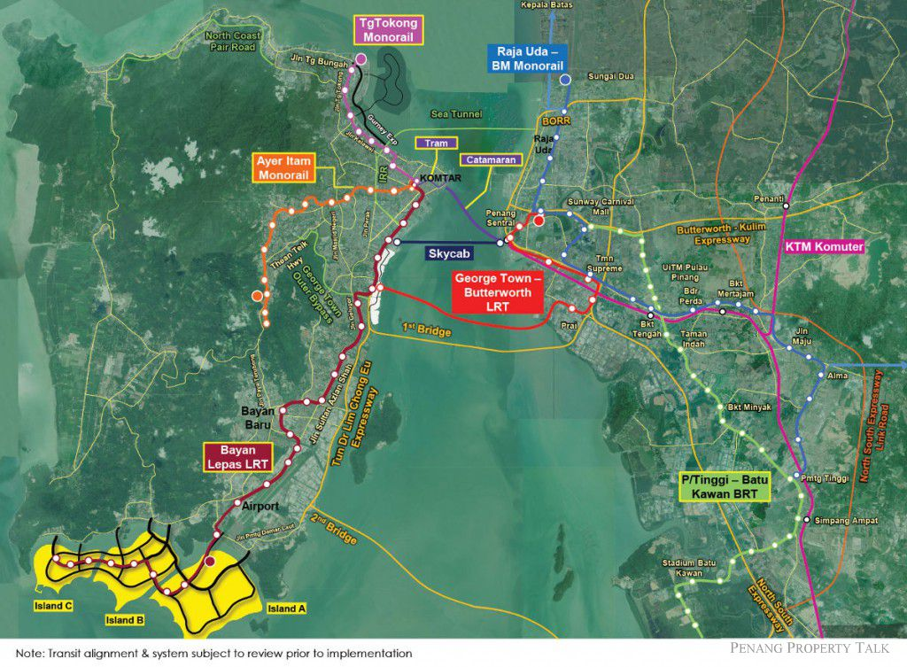 Penang-Transport-Network
