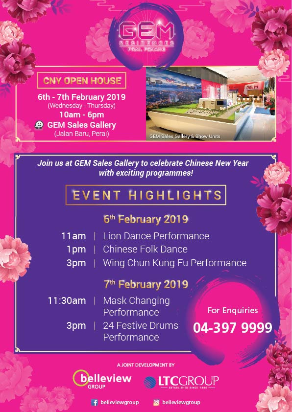 Chinese New Year Open House @ GEM Sales Gallery
