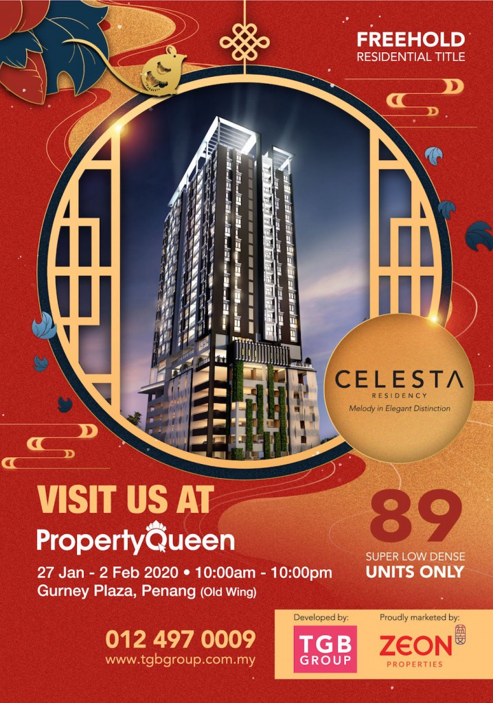 Celesta Residence - Super low density condo with only 89 units