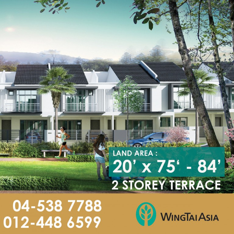 Low-density residential development at Bukit Mertajam Project details