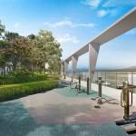 Anggun Residences - Sky outdoor gym
